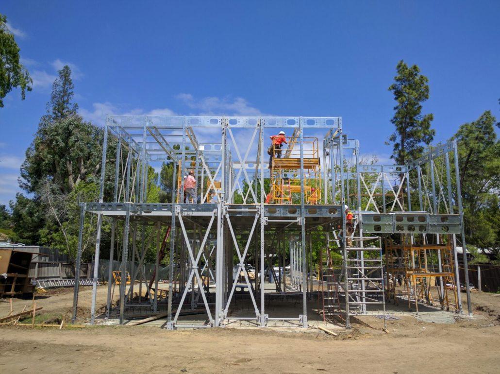 Steel frame home designed for net zero living | Proud Green Home