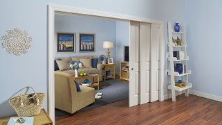 One Large Room Can Seemingly Be Created Out Of Two When The Converging Pocket  Doors Are Open. When Not In Use, Rooms Can Be Sectioned Off To Save On  Heating ...