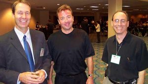 L to R: Mike Lee (ATMIA), Kurt Helwig (EFTA), and Doug Deitel (Cardtronics).
