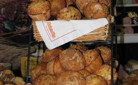 Bake'N Joy was one of many exhibiting suppliers of fresh and frozen baked goods. The company had on display a variety of muffins and pastries available to restaurant operators.