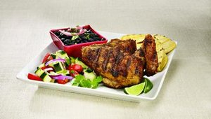 The grilled chicken marinated in Peruvian spices has been a stable on Pollo's menu since it opened in 1971.