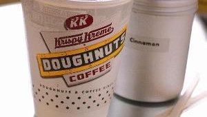 Krispy Kreme's espresso-based drinks include cappuccino.