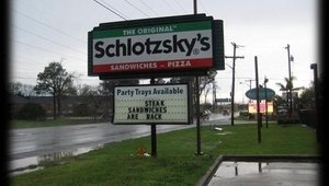Schlotzsky's logo before the redesign