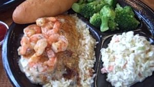 Other offerings include grilled tilapia topped with shrimp scampi over rice, with sides such as steamed broccoli, roasted red potatoes or macaroni and cheese. CEO David Head said that the seafood offerings are determined by consumers.