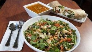 Although known for its entree salads, The Big Salad also serves soup and sandwiches.