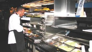 Duke Manufacturing featured its Dual Line and I-Line Production Counters with Grilled-To-Order. The production counter features Tri-Channel Cold Food and Dri-Channel Hot Foot holding systems.
