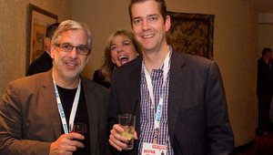 From left: Erle Dardick of MonkeyMedia Software and Patrick Renna from Boloco