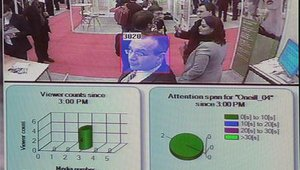 TruMedia's iCapture software measures the eyeballs looking at a screen, and provides detailed demographic and viewership information in real time.
