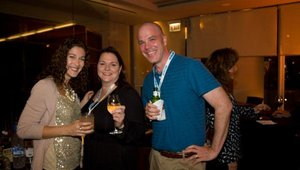 Amy Rockmore, Jeanne Wolff and Joe Saunders attended from Silver sponsor BrandStand group.