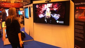<p>Luma displayed a new product called Motion Mirror.</p>
