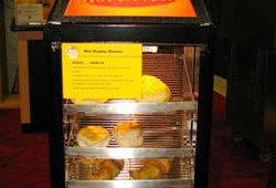 Hatco featured its new Mini Display Warmer with adjustable shelves and single-door or pass-through models and new Convected Drawer Warmer, a low velocity convected air system that provides even temperature throughout the cabinet.