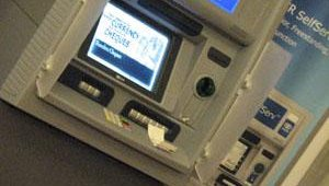 NCR highlighted automated deposits via the Aptra Deposit Gateway on the company's SelfServ ATM line.