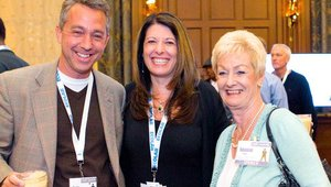 From left: Ben Butler, The China Business Group, Elizabeth Journell, NPD Group, Bonnie Riggs, NPD Group