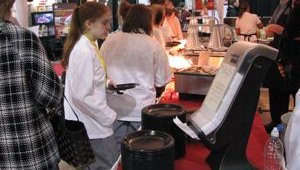 Vendors were pleased with the turnout at the North American Pizza and Ice Cream Show.