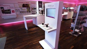 The Samsung Galaxy Zone brings to life the immersive world of T-Mobile's Samsung devices, allowing customers to experience robust product demonstrations.