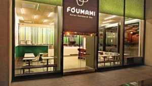 "Foumami Asian Sandwich Bar opened in 2010 in Boston's financial district. Loosely translated, Foumami means ""what Buddha finds to be most delicious."""
