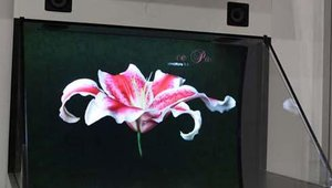 Symon showed off its LiveView virtual 3D display using patented optical reflection technology.