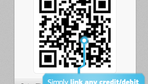 The LevelUp app uses QR codes linked to a users credit or bank account to transmit payment credentials at teh POS.