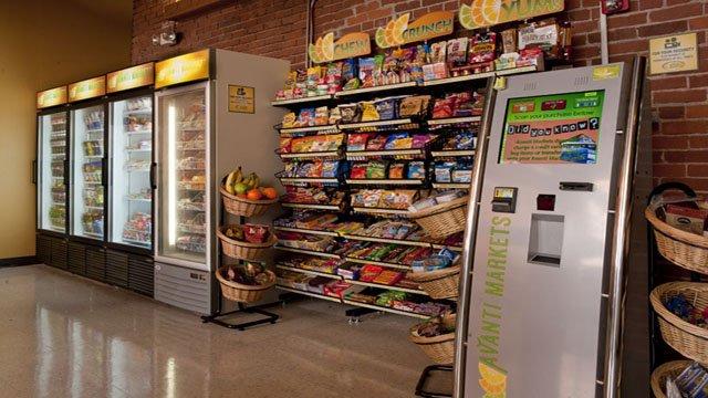 Micro Markets Vs Traditional Vending Machines Kiosk