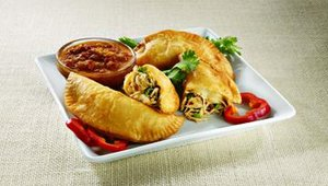 Pollo Campero's empanadas