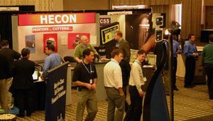 HECON demonstrated units from its substantial catalog of thermal printers. The company, which recently celebrated its 40th birthday, specializes in rugged thermal printers for gas pump, kiosk and other unattended installations.