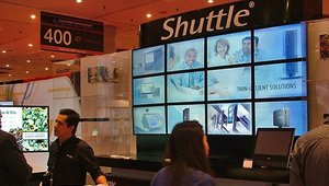 Shuttle Computer Group landed at this year's CETW.