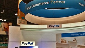 PayPal and eBay made their presence known on the show floor.