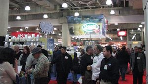 Attendees crammed the aisles on opening day of the 2009 International Restaurant & Foodservice Show of New York. The show was held March 1-3 at the Jacob K. Javits Convention Center.