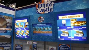 VGS also created a digital menu board system for White Castle. The company's MagaLens and MagAlign products give restaurant operators the ability to change information through printed inserts that are magnetically attached to the menu board system&#46