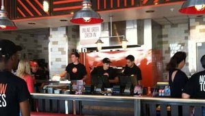 <p>California's Blaze Fast-Fire'd Pizza opened in Louisville, Ky. Managing partner Wayne Albritton said he will always have the restaurant overstaffed versus understaffed, so the guest is taken care of.</p>