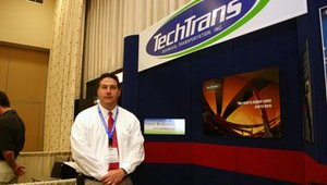 "Technical Transportation Inc. offered information on its ""white glove"" delivery service for kiosks, ATMs and other large electronic devices."