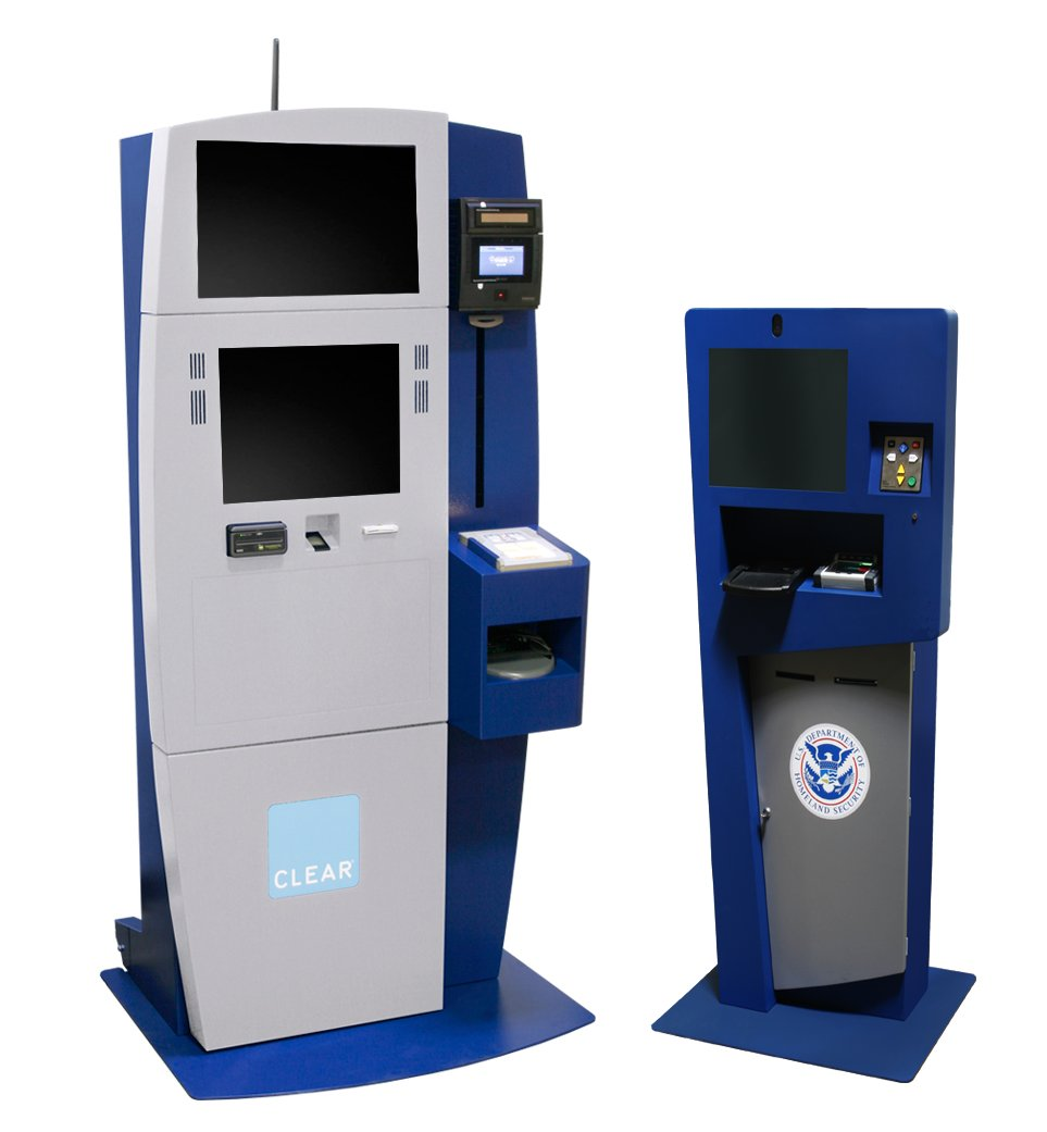 airport security kiosks kiosk information systems. Black Bedroom Furniture Sets. Home Design Ideas