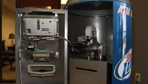 Baker found that Genmega manufactured the ATM model that was most compatible with the interior design of the Bevcan.