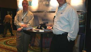 Joe Stevens, left, and Wayne Vanderkraak of Solvport LLC.