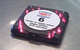Captain D's company stores added pagers similar to those used in casual dining restaurants to clear congestion and improve dining room ambience. Customers place their order at the counter and return for their food when the pager alerts them.