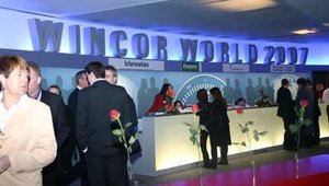 Wincor World 2007 was expected to draw between 7,000 and 8,000 visitors from throughout the world.