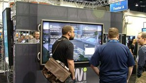 And onlookers were drawn in by Four Winds' digital signage apps.