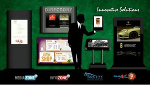 Keywest Technologies has created a variety of customizable kiosk options.