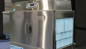 Hobart's Advansys CLeR Energy Recovery conveyor-type warewasher is Energy Star qualified. CLeR can save to up $11,000 annually in utility costs.