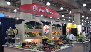 Fresh produce suppliers from around the New York region also were exhibiting at the 2009 International Restaurant & Foodservice Show of New York. Gargiulo Produce displayed an abundance of fresh fruits and vegetables during the March 1-3 show.