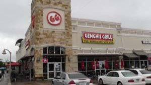 After Mooyah, the group headed over to Dallas-based Genghis Grill. The concept has grown to 37 units and is centered around Mongolian stir-fry.