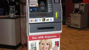 A retailer using the Better ATM card-dispensing technology need only sign up for the service, select a card products and/ or promotions, and then convert the ATM's cash-dispensing tray into a card-dispensing tray.