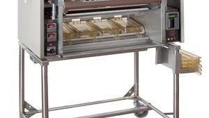 """Nieco Automatic Broilers has manufactured the conveyor oven for Burger King for decades. The new Nieco MPB 94 Low-Energy Broiler added a second, """"flex"""" conveyor to handle any variety of menu item."""