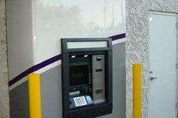 After: First Edition Community Credit Union with custom ATM surround.