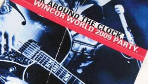 Wincor Nixdorf hosted its annual wrap-up parties for its customers on Wednesday night. This year's theme focused on the King of Rock 'n Roll.