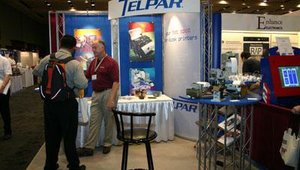 Telpar showcased its impact and direct thermal printers for varied applications, including a modular printer for gaming machines.