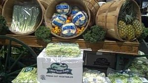 U.S. Foodservice showcased its line of Cross Valley Farms fresh vegetables as well as provided various samples of and recipes for menu items.