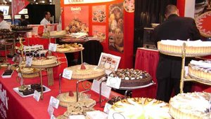 David's Cookies, based in Fairfield, N.J., was one of several companies displaying their dessert offerings at the show.
