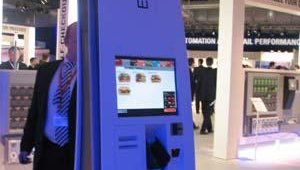 Easy ordering, with touchscreen technology.