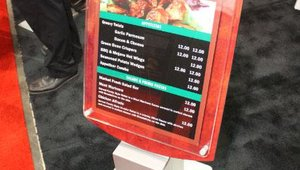 National Sign Systems unveiled new signage solutions for the foodservice industry.
